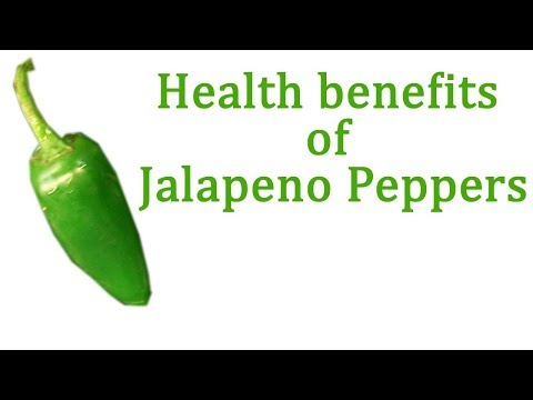 8 Health Benefits of jalapeno