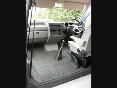 How To Carpet A Vw T4 Front Cab Floor Youtube