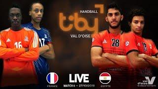 M6 18h15 I France - Egypte I 27/10 TIBY Handball 2018