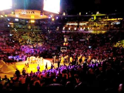 LAKERS vs. BLAZERS OPENING NIGHT, OCTOBER 28th 2008