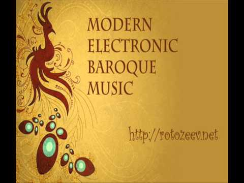 Modern electronic baroque music