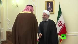 شاهد.. لحظة وصول وزير الخارجية الكويتي إلى طهران