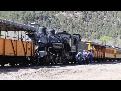 Move of the 493 - Durango and Silverton Narrow Gauge Railroad