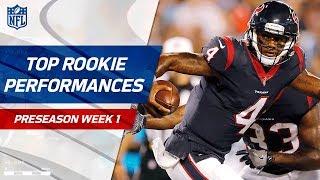 Top Rookie Performances of Week 1 | NFL Preseason Highlights