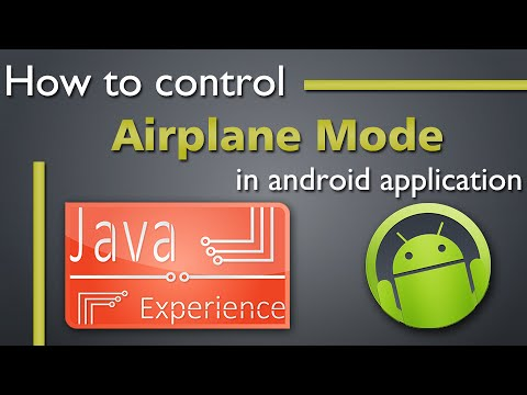 How To Control Airplane Mode Using Java Code In Android