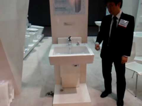 Adjustable Height Pedestal Sink