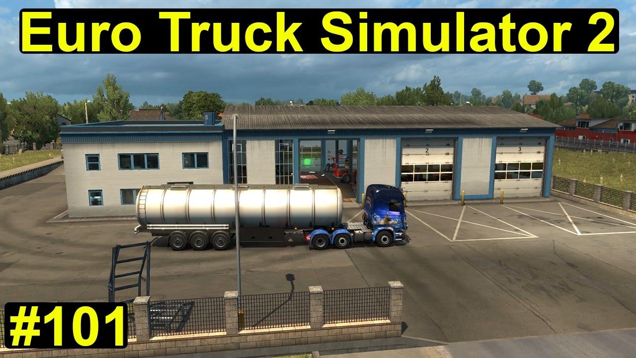 euro truck simulator 2 wir kaufen eine garage 101