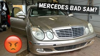 Video BAD SAM ON MERCEDES  SIGNS OF BAD SAM MODULE download MP3, 3GP, MP4, WEBM, AVI, FLV Oktober 2018