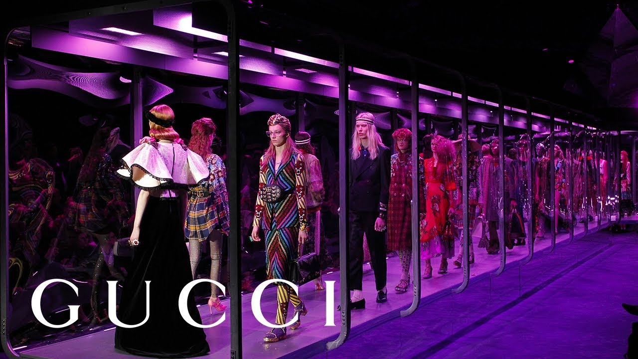 gucci fall winter 2017 fashion show youtube