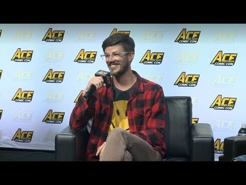 Grant Gustin At Ace Comic Con - 6/23/2018