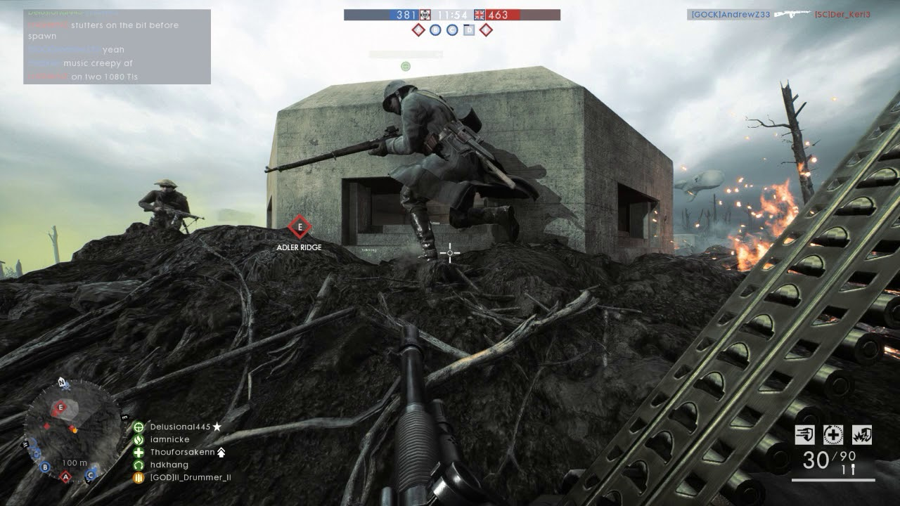 BF1 Spawn Stutter/Low FPS Issue