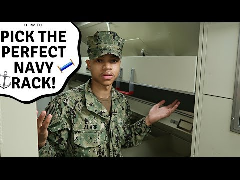 HOW TO PICK THE PERFECT NAVY RACK! | OFFICIALSHIM