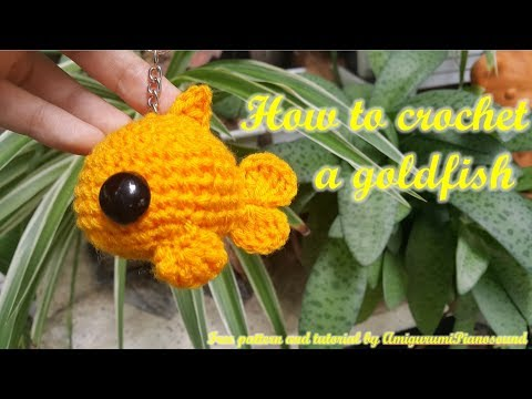 How To Crochet A Goldfish