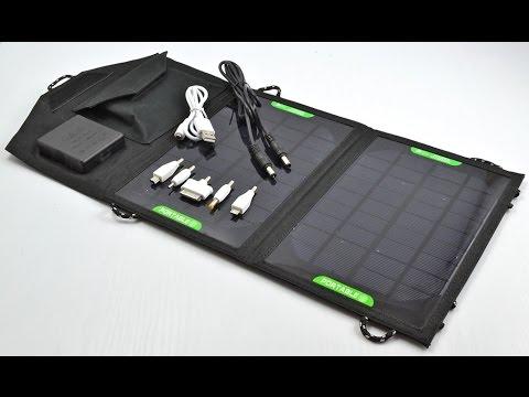 Солнечная Батарея для Зарядки Планшетов и Гаджетов (1300mAh 5V)