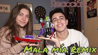 Reaccion: Maluma, Becky G, Anitta - Mala Mia
