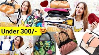 Affordable Meesho handbags/clutch Bags/Starting 300/-