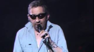 Serge Gainsbourg - Live Zénith 1989 - You're under arrest !