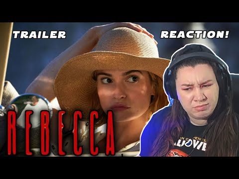 Rebecca 2020 Netflix Trailer REACTION!!