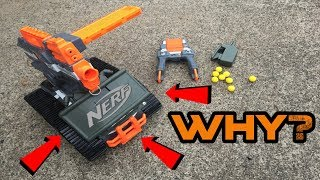 NERF Drone Mod! Terrascout + Claymore = WIN.