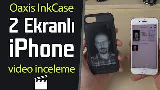 2 ekranlı iPhone | InkCase ekranlı kılıf