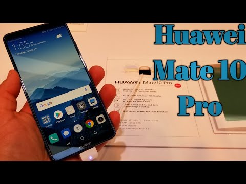 Huawei Mate 10 Pro Hands-On at CES will retail for $800