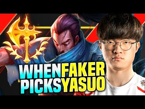 FAKER BRINGS BACK YASUO! - SKT T1 FAKER Plays YASUO vs KASSADIN Mid! | Season 2020 KR SoloQ