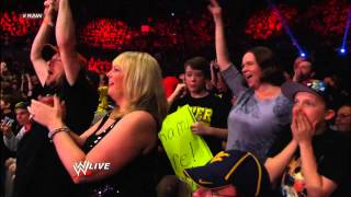 Randy Orton vs. Damien Sandow: Raw, May 6, 2013