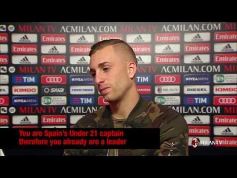 Gerard Deulofeu's first interview to Milan TV