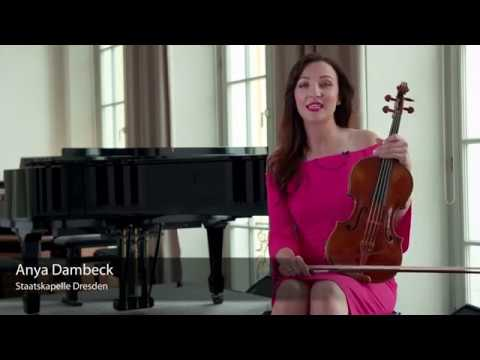 Larsen Strings Virtuoso for Viola presented by Anya Dambeck / Staatskapelle Dresden