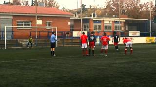 Gol de penalti de Javi Ros || Estrella Roja 2-7 SP. Romareda