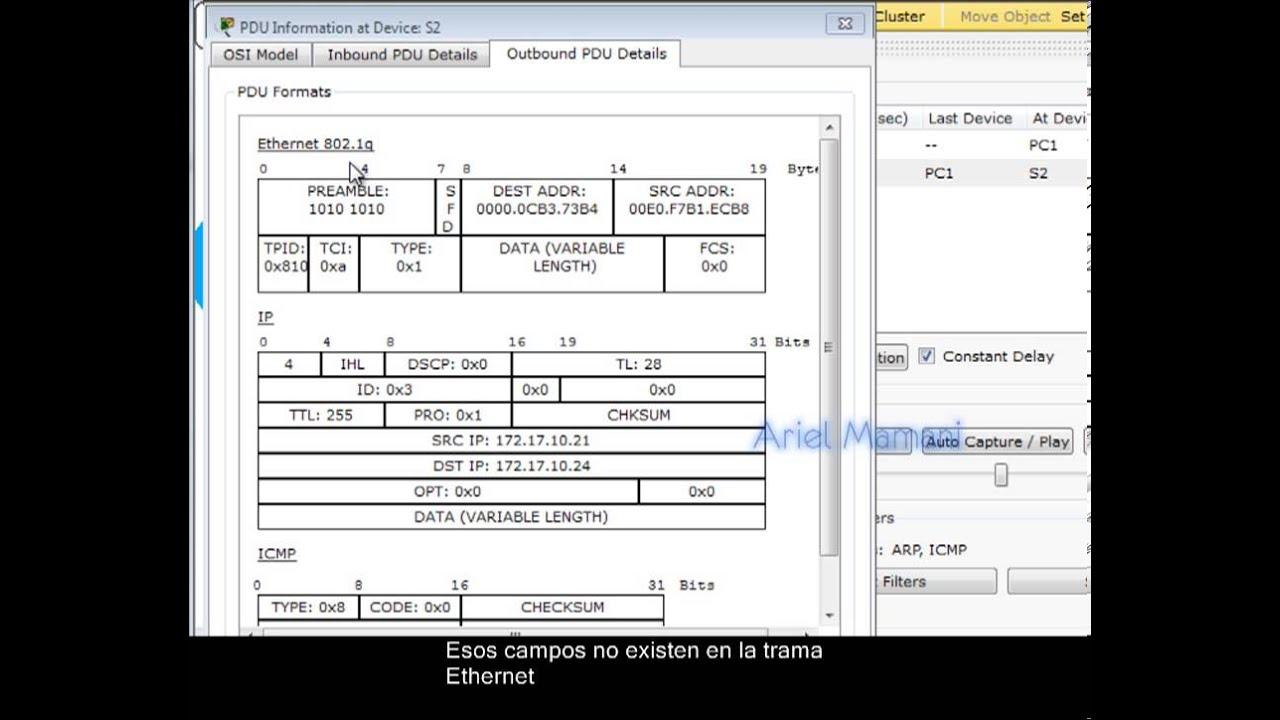 Analisis de los mensajes troncales de una VLAN - YouTube