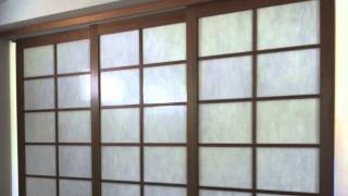 Creative Blinds Shoji Screens Sliding Room Divider Alstonville