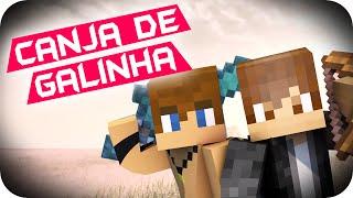 COMO FAZER UMA CANJA DE GALINHA - Minecraft