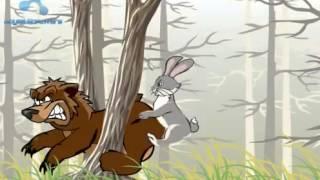 Медведь и заяц  :d!