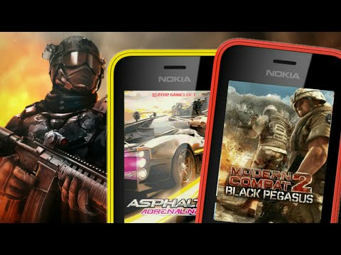 Modern Combat 2 in Nokia 216 Gameplay