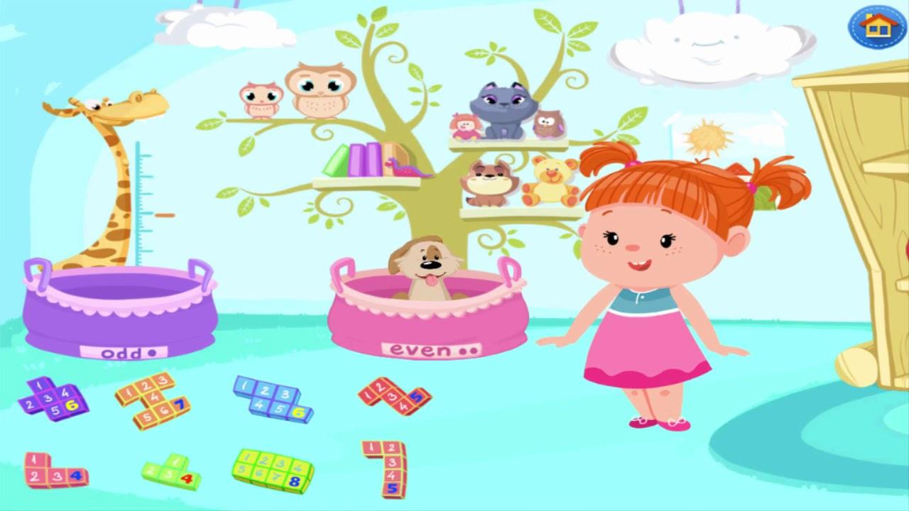 Number Videos for Kindergarten Kids Izzies Math Kids Game ...
