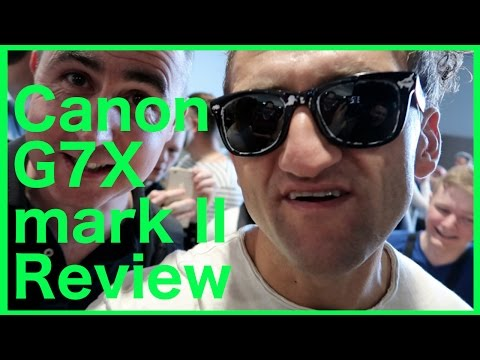Casey Neistat reviews Canon G7X mark II camera with me