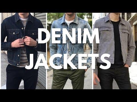 Men's Denim/Jean Jacket Lookbook - How To Wear & Style