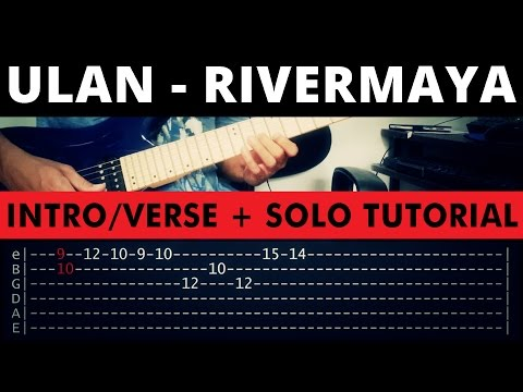 Ulan - Rivermaya INTRO/VERSE + SOLO Tutorial