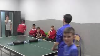 CZ14- Szabełki na Obozie z Iskrą Kochlice-Głuchołazy- Mistrzostwa w Tenisie Stołowym- Półfinały