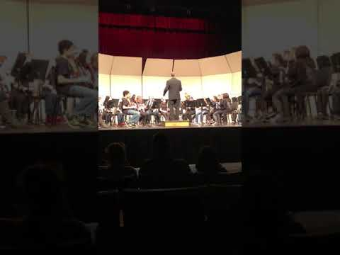 North Pole middle school winter Concert