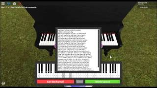 (Roblox Virtual Piano) Married Life/Sheets