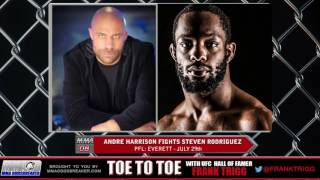 Frank Trigg pre-fight interview with PFL: Everett's Andre Harrison