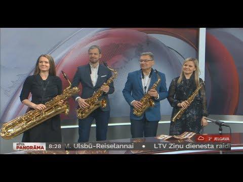 Sākas XI Starptautiskais saksofonmūzikas festivals SAXOPHONIA