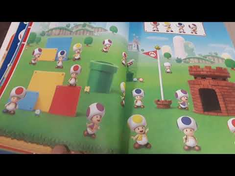 Taking A Look At The Super Mario Official Sticker Book! (Part 1)