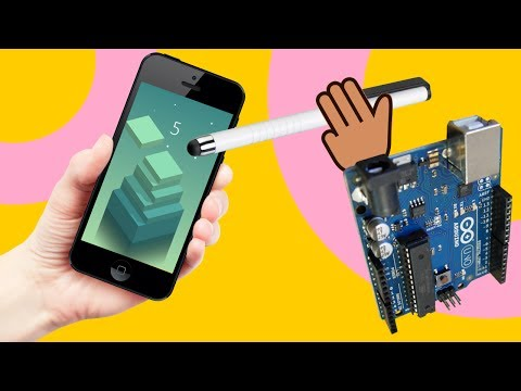 Arduino Project to Automatically Play Stack game on Android