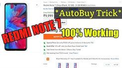 Redmi Note 7 Autobuy Script । How to Buy Redmi Note 7 । Autobuy trick 2019 ।
