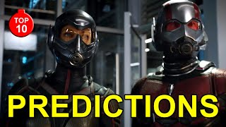 TOP 10 Ant-Man and The Wasp Movie Predictions