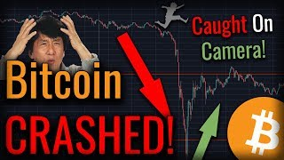 Bitcoin CRASHED To $6,600 - How Far Will We Retrace? - Caught On Camera