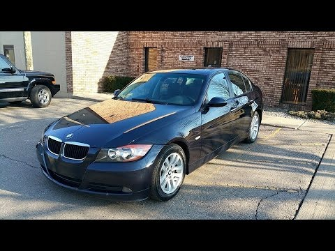 2006 bmw e90 325i review youtube. Black Bedroom Furniture Sets. Home Design Ideas